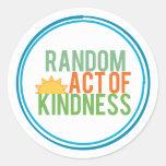 Random Act of Kindness Classic Round Sticker