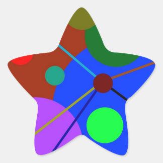 Random Activity Star Sticker