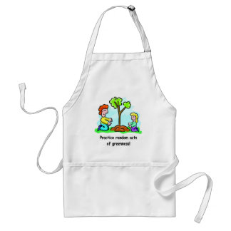 Random Acts of Greenness Adult Apron