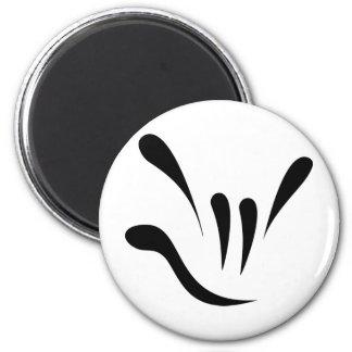 Random Acts of ILY - Black 2 Inch Round Magnet