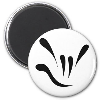 Random Acts of ILY - Black Fridge Magnet