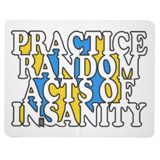 Random Acts of Insanity custom pocket journal