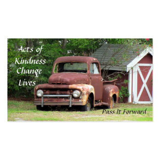 Random Acts of Kindness Cards - The Truck