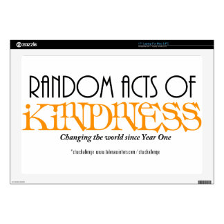 "Random Acts of Kindness - CTWChallenge Skins For 17"" Laptops"