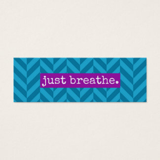 Random Acts of Kindness Just Breathe Card