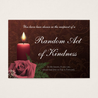 Random Acts of Kindness wallet Cards -