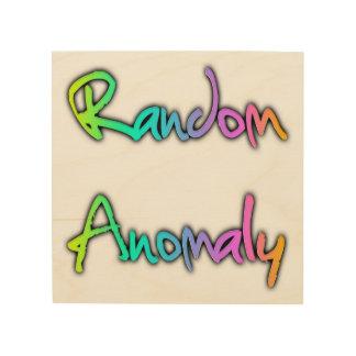 Random Anomaly Rainbow Wood Print