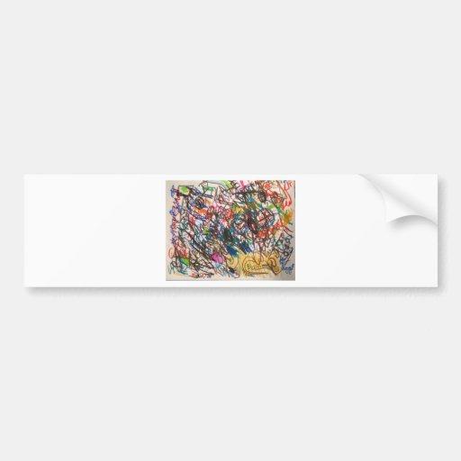 Random Art Bumper Stickers