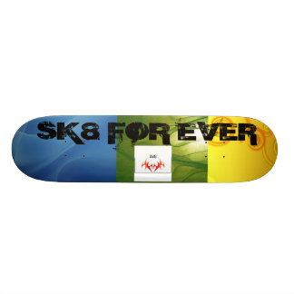 random but beautiful skateboard deck