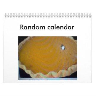 Random calendar
