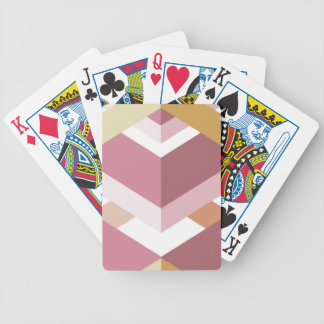 Random Chevron Bicycle Playing Cards