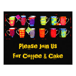 Random Coffee Mug Invitation