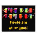 Random Coffee Mug Personalized Invitations
