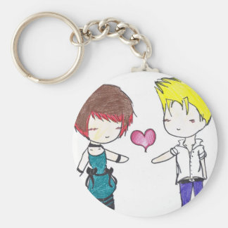 Random Couple Keychain