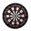 Random Decision Maker Dartboard With Darts