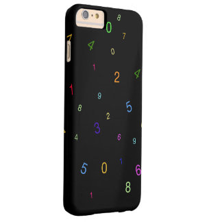 Random Digits Barely There iPhone 6 Plus Case