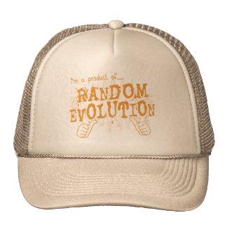 random evolution trucker hat