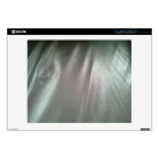 "Random fabric 14"" laptop decal"