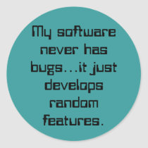 Software Bugs Random Features