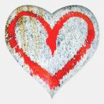 Random Heart Collection Graffiti Heart Sticker