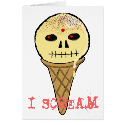 Random I Scream Birthday Card