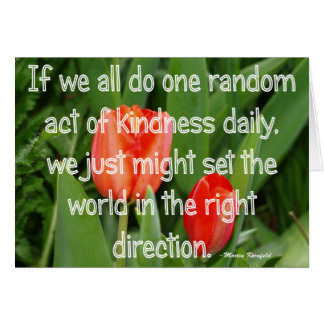 Random Kindness Card
