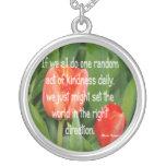 Random Kindness Custom Necklace