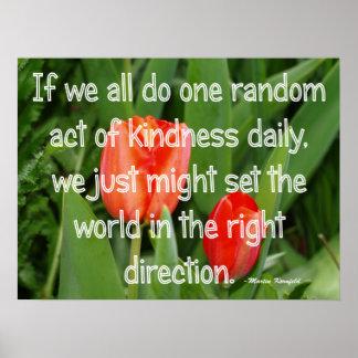 Random Kindness Poster