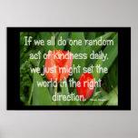 Random Kindness Posters
