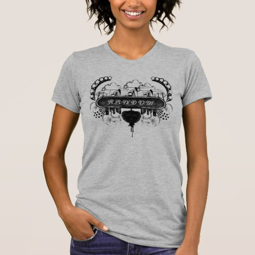 Random low neck t shirt zazzle for Random t shirt generator