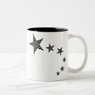 Random-Mosaic Style Shooting Stars Mug