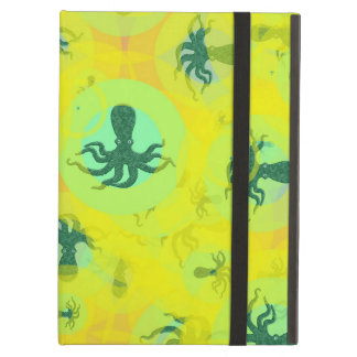 Random octopuses iPad air cover