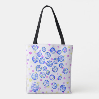 Random Orbits Tote Bag