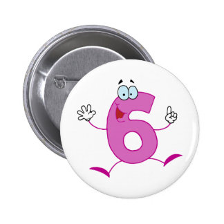 RANDOM OVERVIEW NUMBERS CARTOON SKETCH PATTERNS PINBACK BUTTON