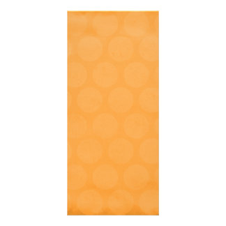 RANDOM OVERVIEW PART FOURTEEN ORANGE COLORS RACK CARD TEMPLATE
