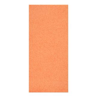 RANDOM OVERVIEW PART FOURTEEN ORANGE COLORS CUSTOMIZED RACK CARD