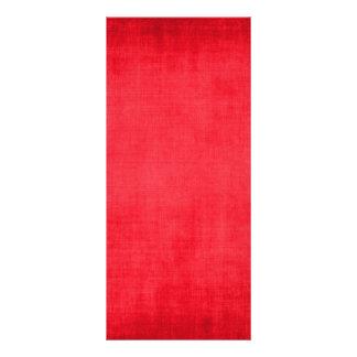 RANDOM OVERVIEW PART SEVENTEEN RED COLORS RACK CARD