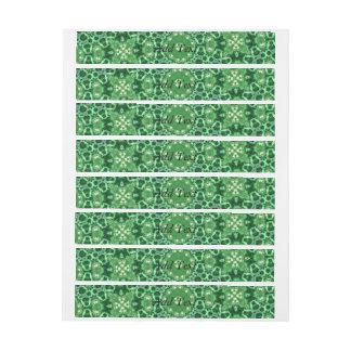 random pattern 2 green.jpg wraparound address label