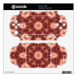random pattern red skins for the PSP