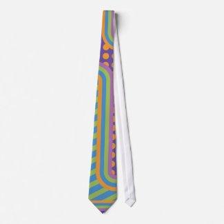 Random Patterned Tie tie