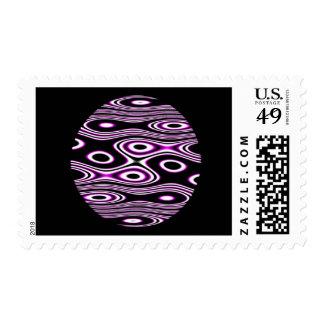 Random Planets Postage Stamp