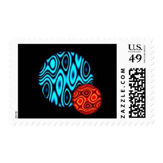 Random Planets. Stamp