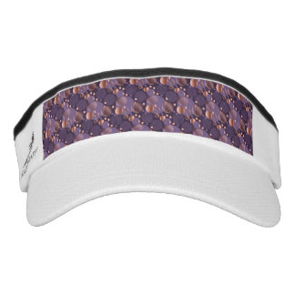 Random polka dots, fun, colorful, pattern,xmas,hap visor