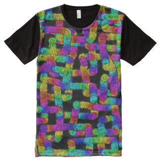 Random Rainbows Tapestry All Over T-shirt
