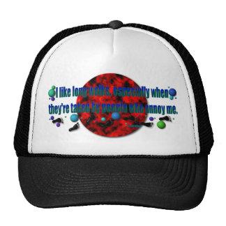 Random Red Dot Hat