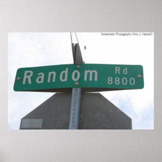 Random Road Poster