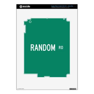 Random Road, Street Sign, New Jersey, US Skin For iPad 3