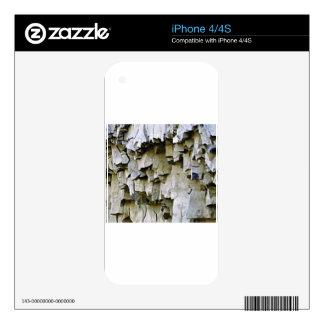 random rock ruffles iPhone 4 decal