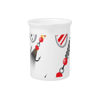 Random set of spinners different colors vector drink pitcher