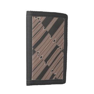 Random Shifts Nylon Tri-fold Wallet